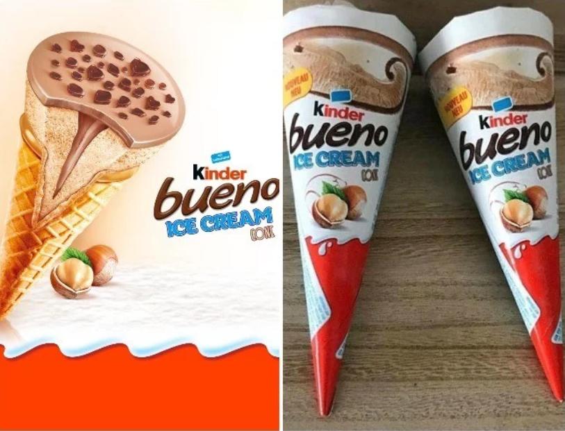 Surprise ... Ferrero lance les glaces Kinder !