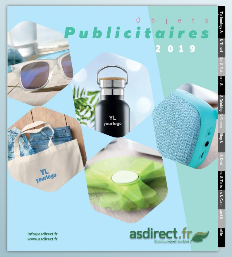 Objets Publicitaires 2019 - nouveau catalogue en ligne